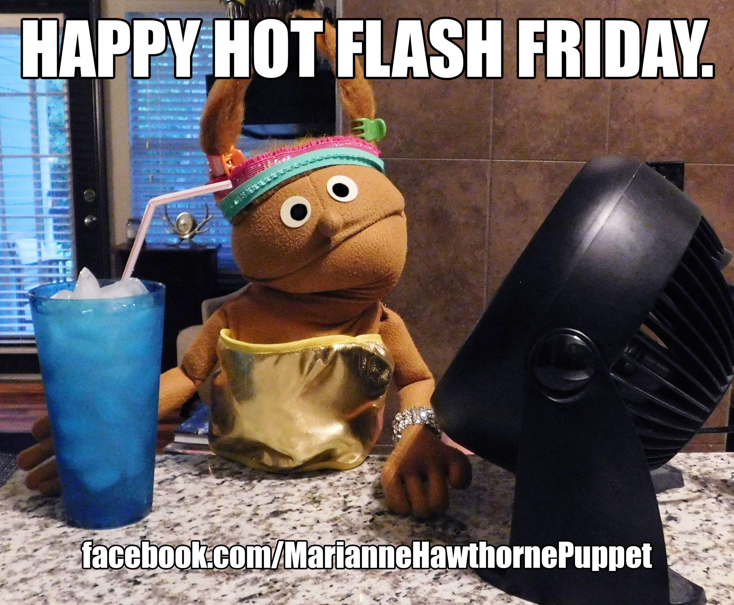 Hot Flash Meme Happy Hot Flash Friday Meme Women Comedy