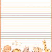 Baby Animals Stationery Baby Animals Stationery Animals
