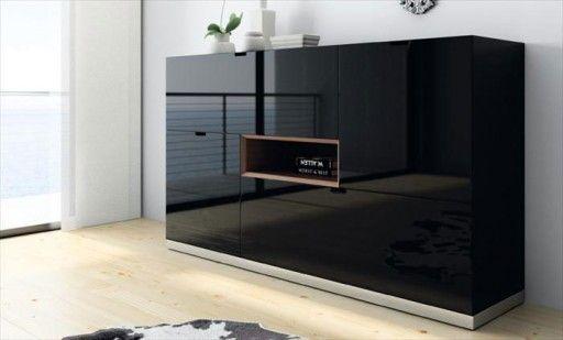Armario Cama Plegable Ikea ~ Decoración en blanco y negro Bufet o aparador Sombra de