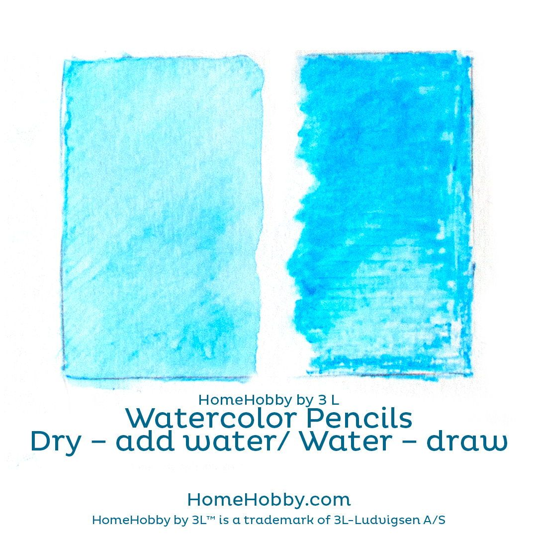 How To Use Watercolor Pencils Use The Pencils Dry Or Add Water