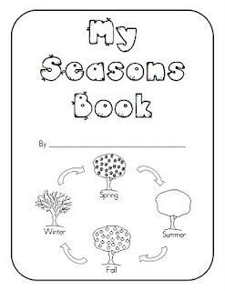 Seasons Book Freebie Kindergarten Books Seasons Kindergarten
