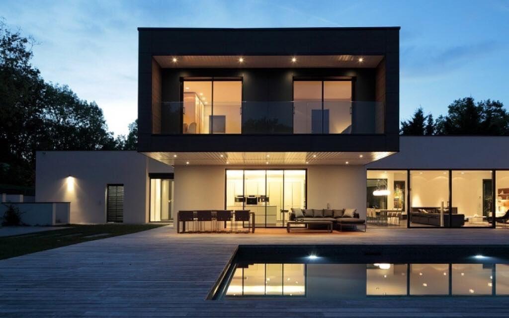 Une magnifique maison contemporaine réalisée par l\u0027architecte Sandra