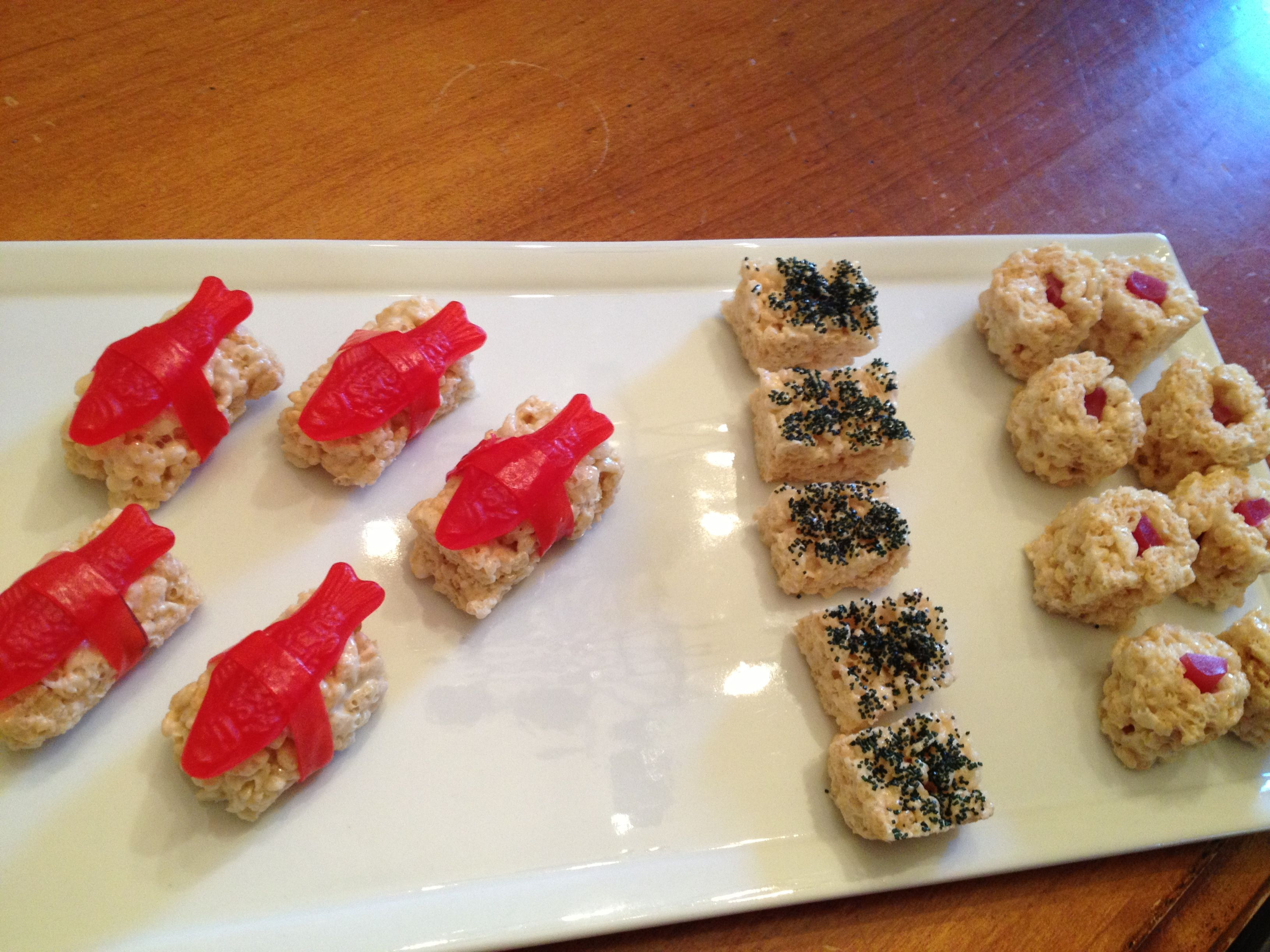April Fool's Day dessert (sushi for dessert? The kids ...