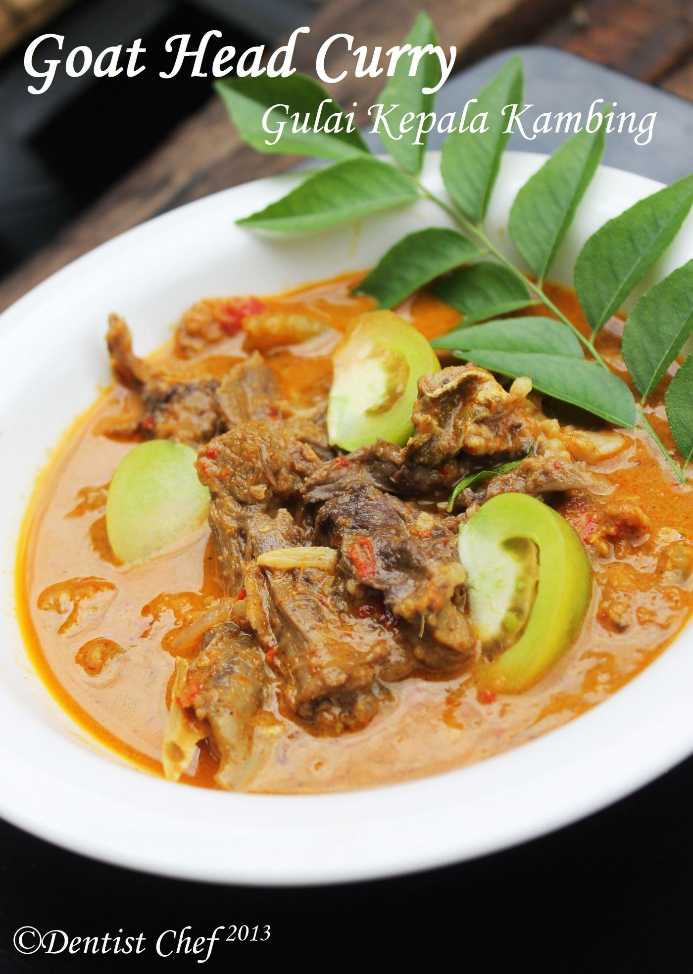 Goat Head Curry/ Gulai Kepala Kambing ala | Food | Beef rendang