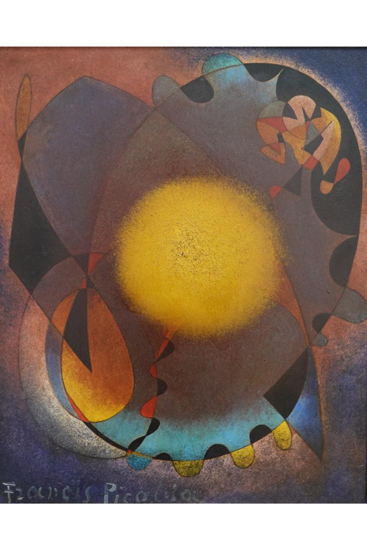 Was Von Francis Picabia Blieb War Ein Kalenderspruch Der Kopf Ist Rund Damit Das Denken Die Richtung Wechseln Kann D Moderne Kunst Kunstmuseum Surrealismus