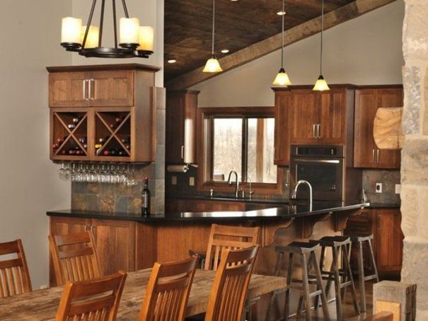 Kitchen Cabinets Layout and Design : Size and distribution are the essentials | Ideas | PaperToStone