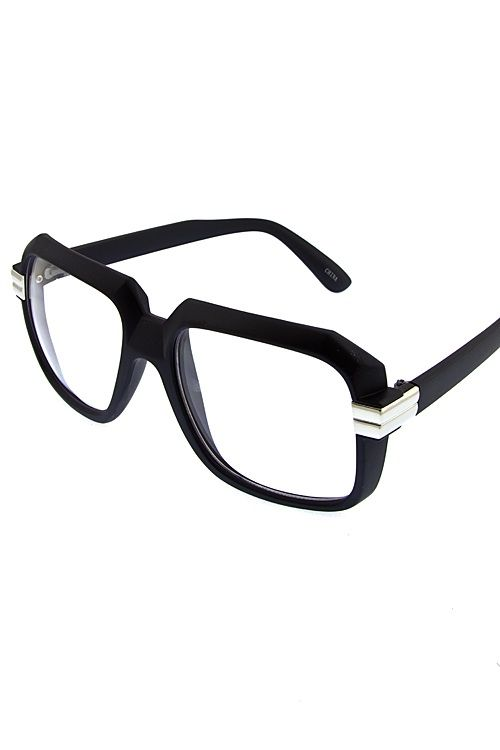 5f8940d3ae Cazal+inspired+Clear+Lense+Frames Available+In+Shiny+Black