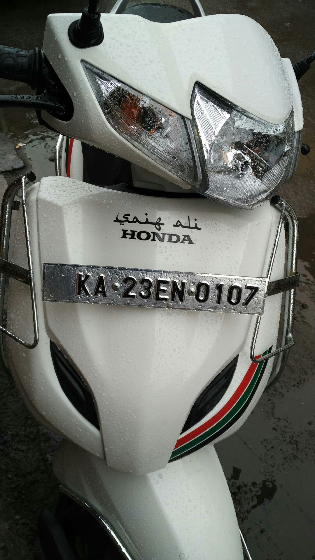 Honda activa 3g modified