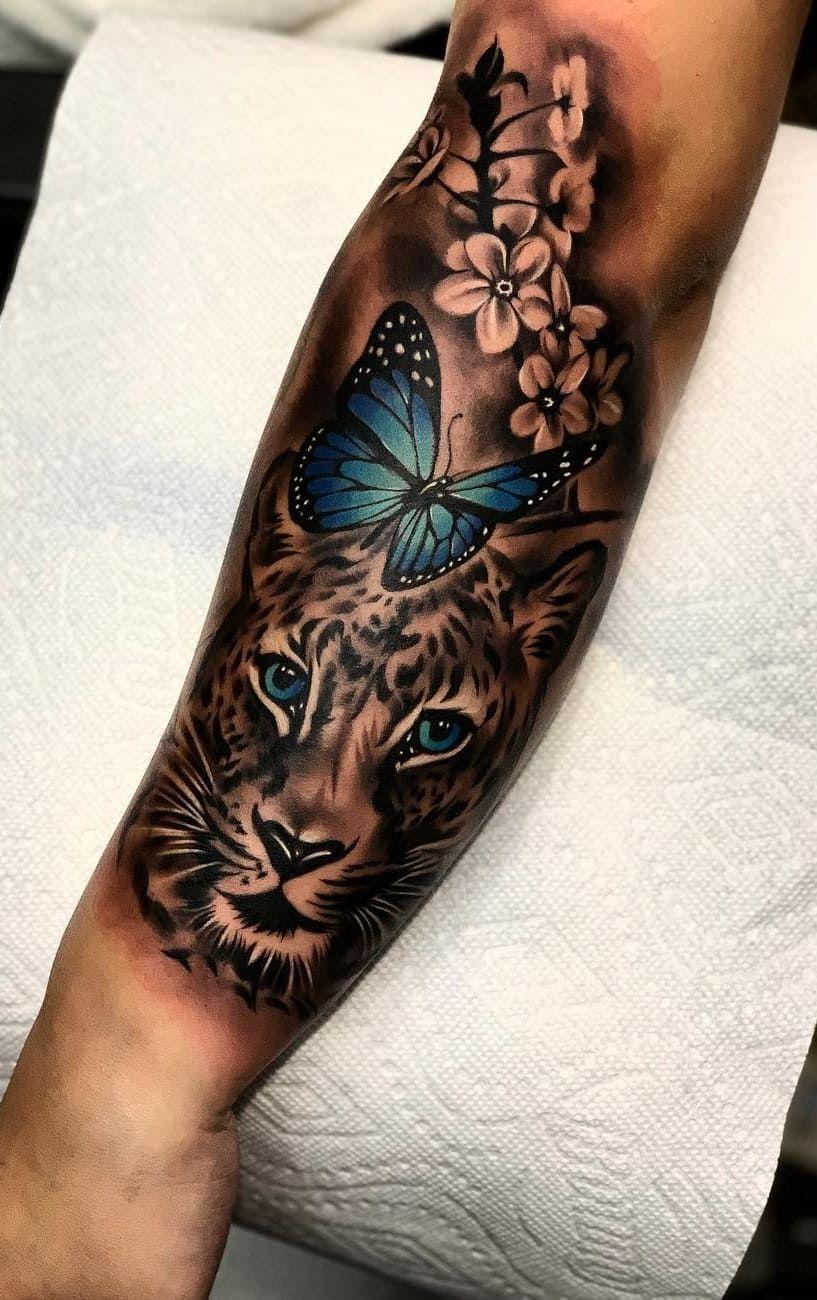 Tatuagens de Borboletas: Confira as 40 melhores da internet   Eu amo tatuagens