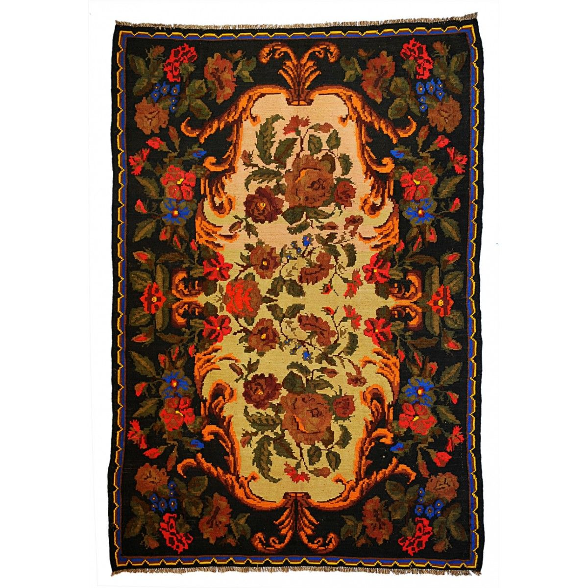 $749.90 Multi Color Bessarabian Rug. This Moldova Kilims