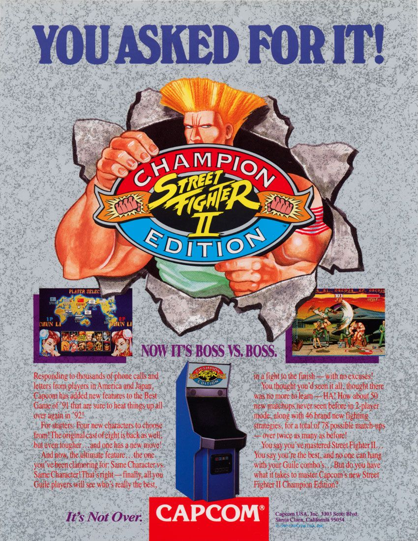 You Asked For It Street Fighter Ii Champion Edition Now It S