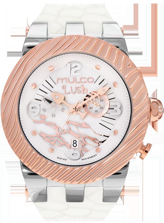 Reloj #Mulco Colección Lush Color Blanco MW5-2365-013