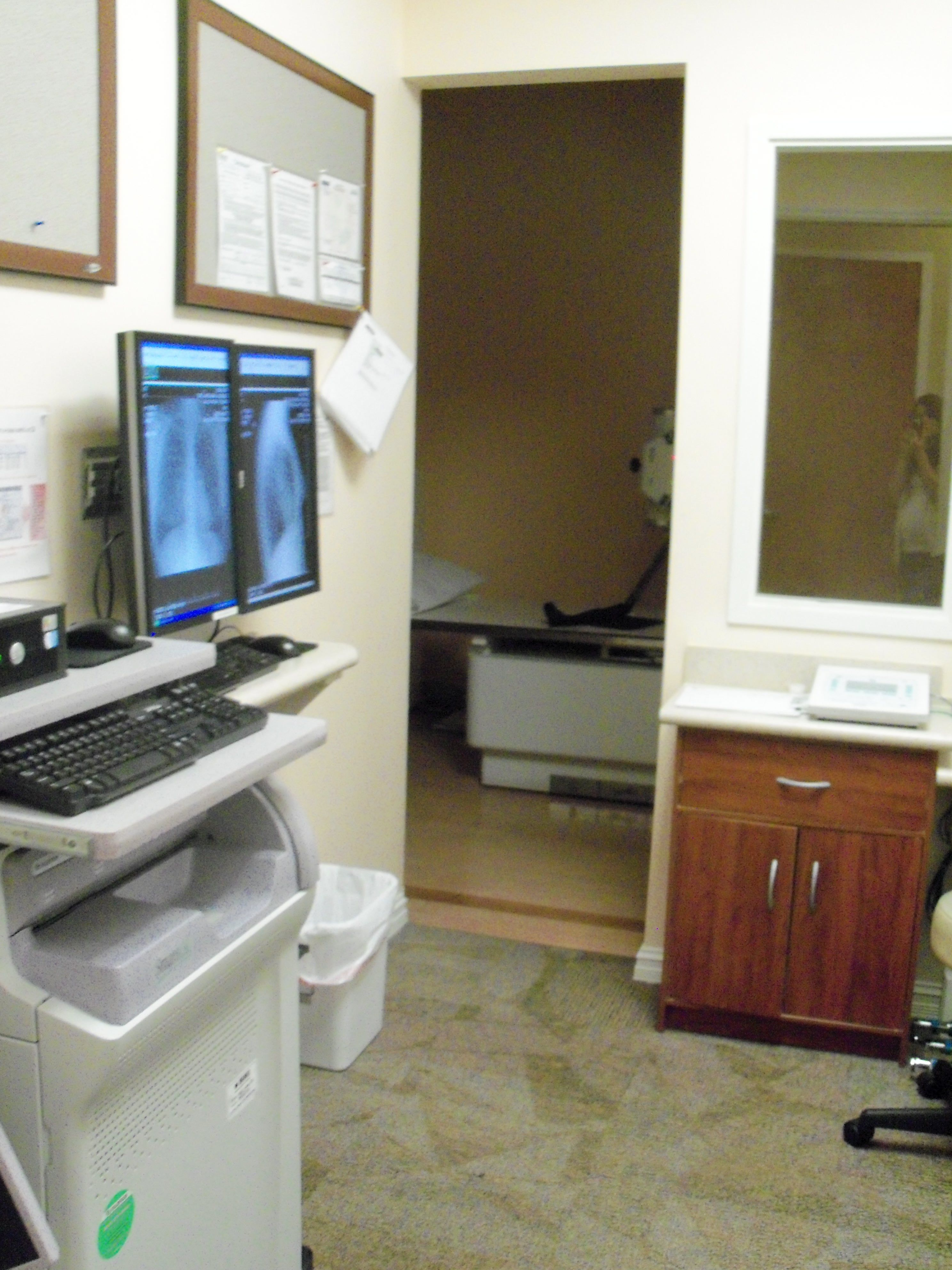 This is the Xray Room in our Lake Worth location. We are
