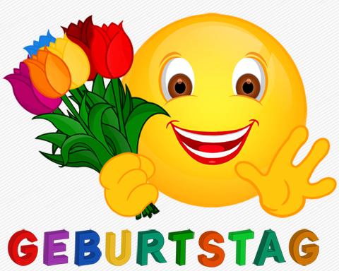 Smiley Geburtstag Tulpen Spruche Pinterest Smiley Geburtstag