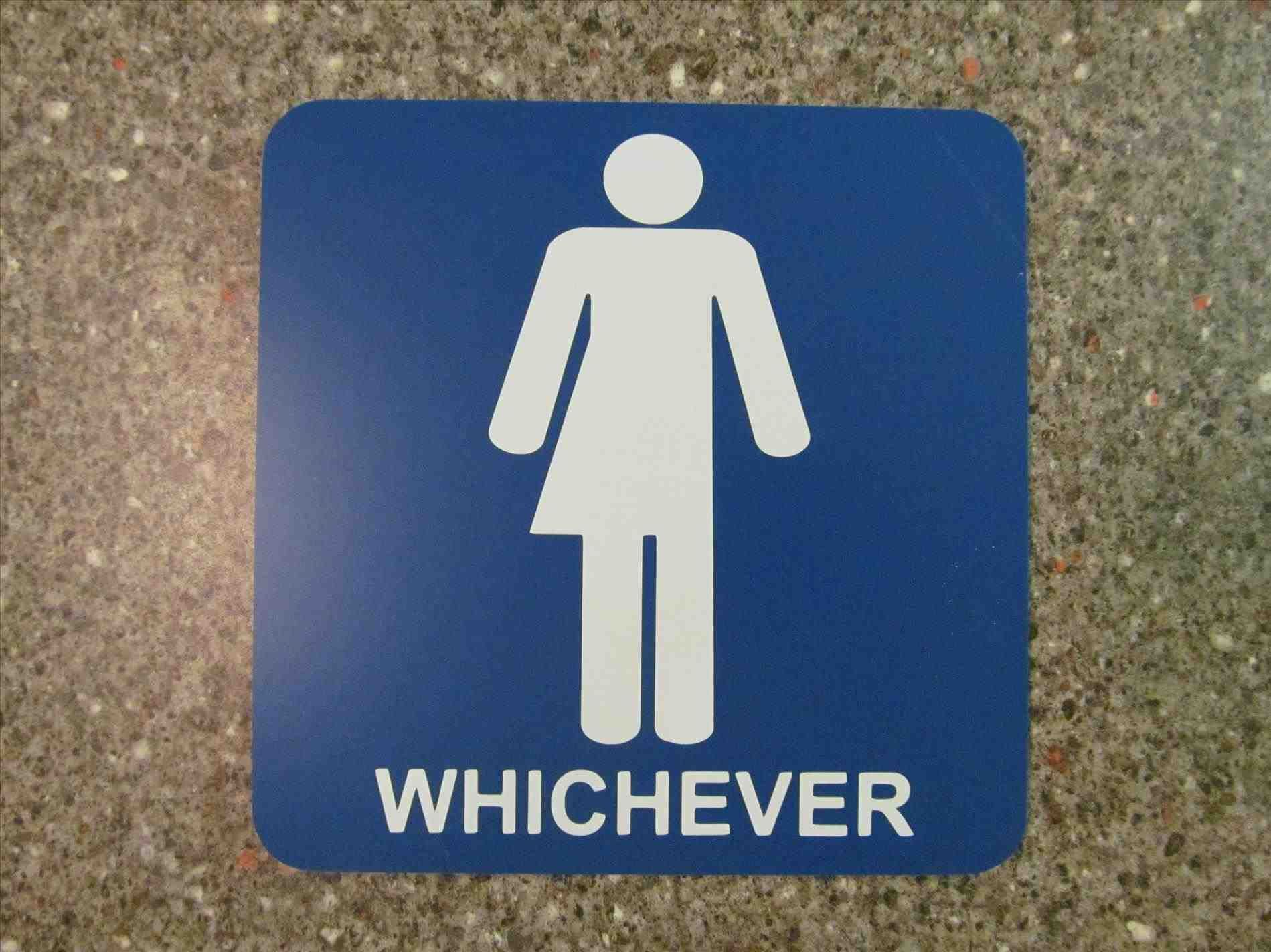 New Gender Neutral Bathroom Sign Funny At Xx16