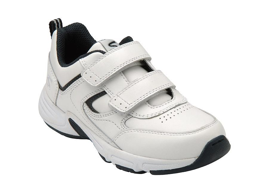 METEOR- white leather trainers for