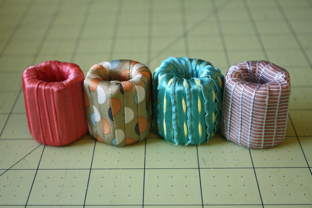 fabric weights from nuts and washers