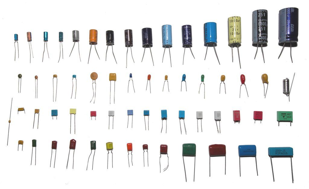 A capacitor is a passive electronic component that stores energy ...