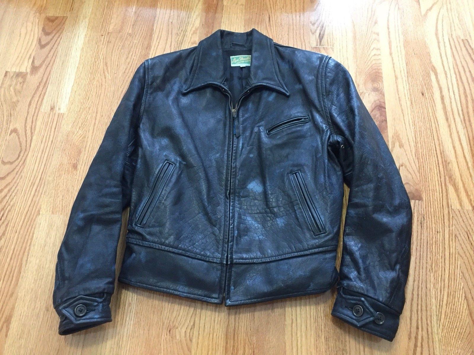 Rare Levi by Aero Scotland Leather jacket, Jackets