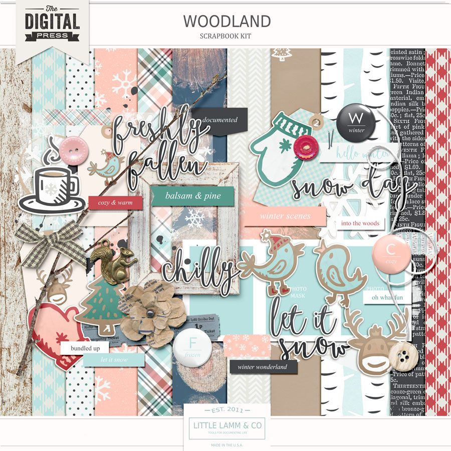 Woodland by Little Lamm & Co.