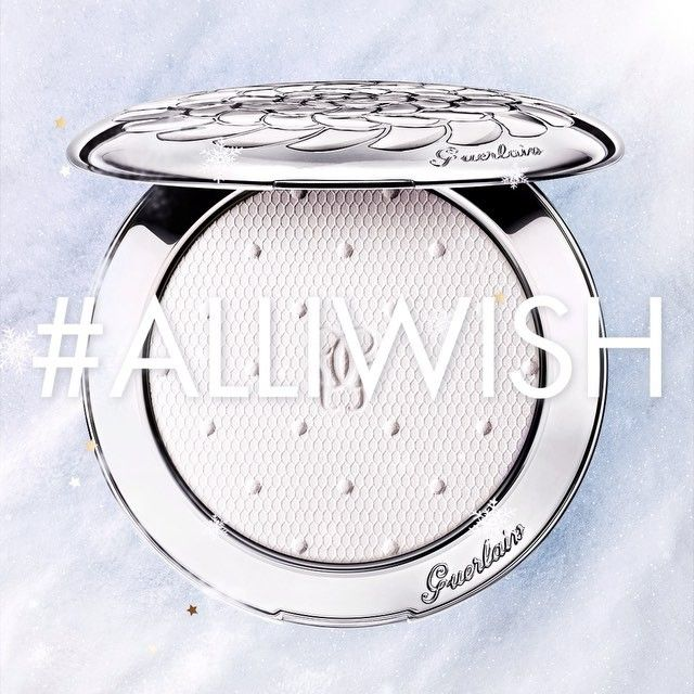 Let the #Christmas magic light up your face with #Guerlain's Météorites Voyage Enchanté and its pure and icy winter case. #AllIWish