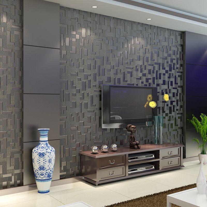 zeitgen ssische umwelt 3d tv einstellung wand leder beflockung wohnzimmer. Black Bedroom Furniture Sets. Home Design Ideas