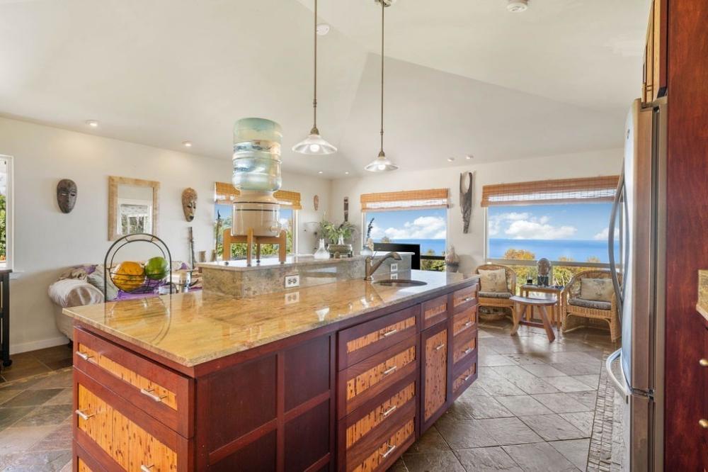 South Kona Properties for Sale | Large kitchen island ...