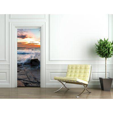 Adesivi follia Adesivo per porte mare (con immagini