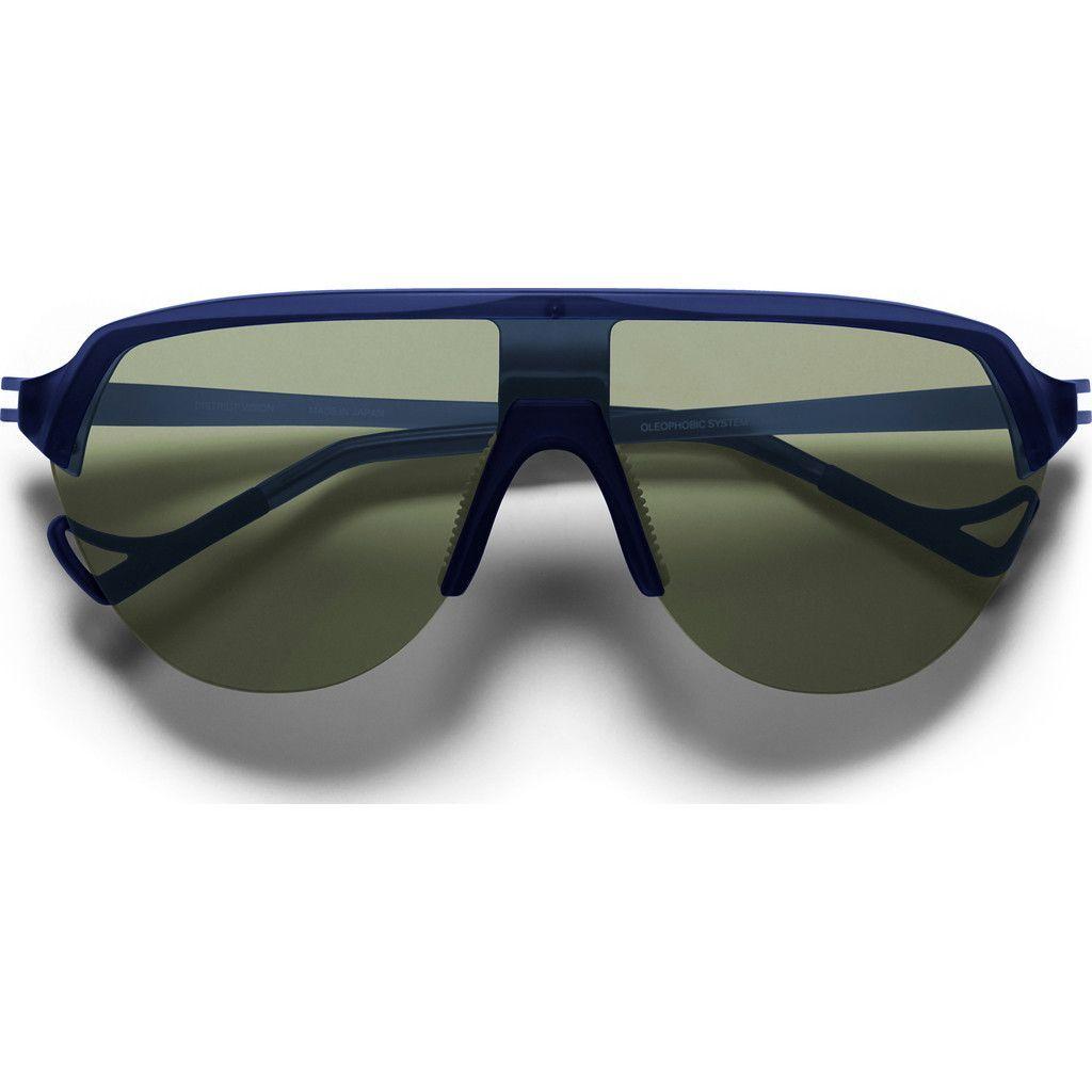 District Vision Nagata Blue Sunglasses   District Sky G15