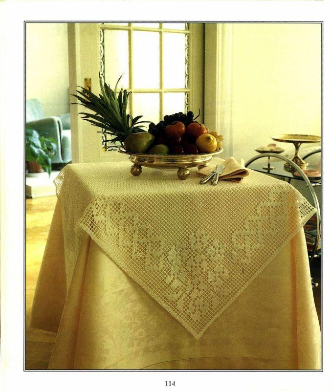 The Filet Crochet Book (Chris Rankin)