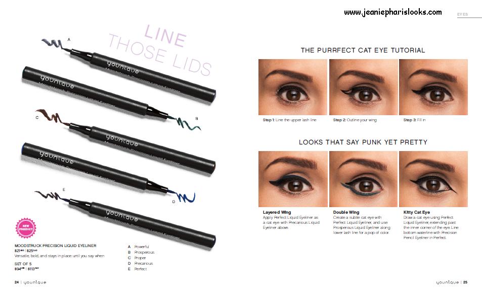 NEW!  Younique Liquid Eyeliner!  www.jeaniepharislooks.com LIKE ME!  www.facebook.com/jeaniesyounique