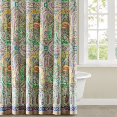 Echo Design Trade Scarf Paisley 72 Inch X 72 Inch Shower Curtain
