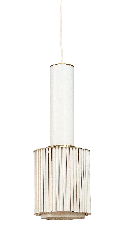 Alvar Aalto Model A111  Metal Pendant Light  White