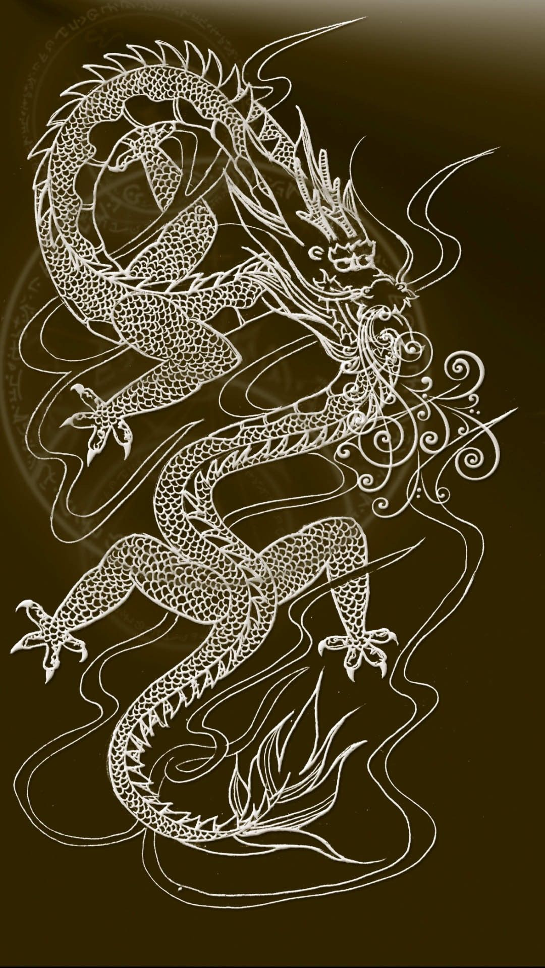 Pin By Leah Hoffman On Dragons Japanese Dragon Iphone Background Iphone Wallpaper