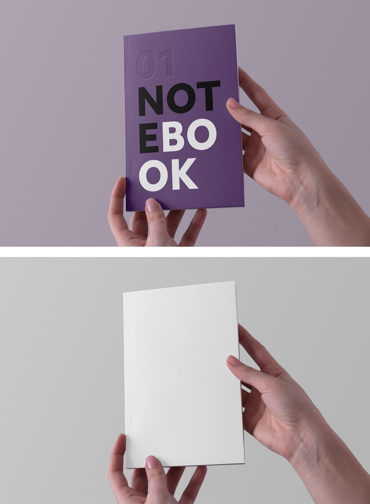 Hands Holding Notebook Mockup Graphic Design Freebies Design Freebie Free Mockup