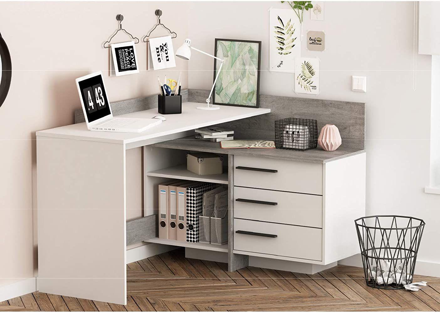 Eckschreibtisch Schreibtisch Arbeitstisch Burotisch Computertisch Thales Ecktisch Eckschreibtisch Schreibtisch Fur Schlafzimmer