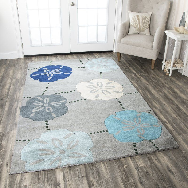 Punta Ra Hand Tufted Blue Area Rug In 2019 Beach