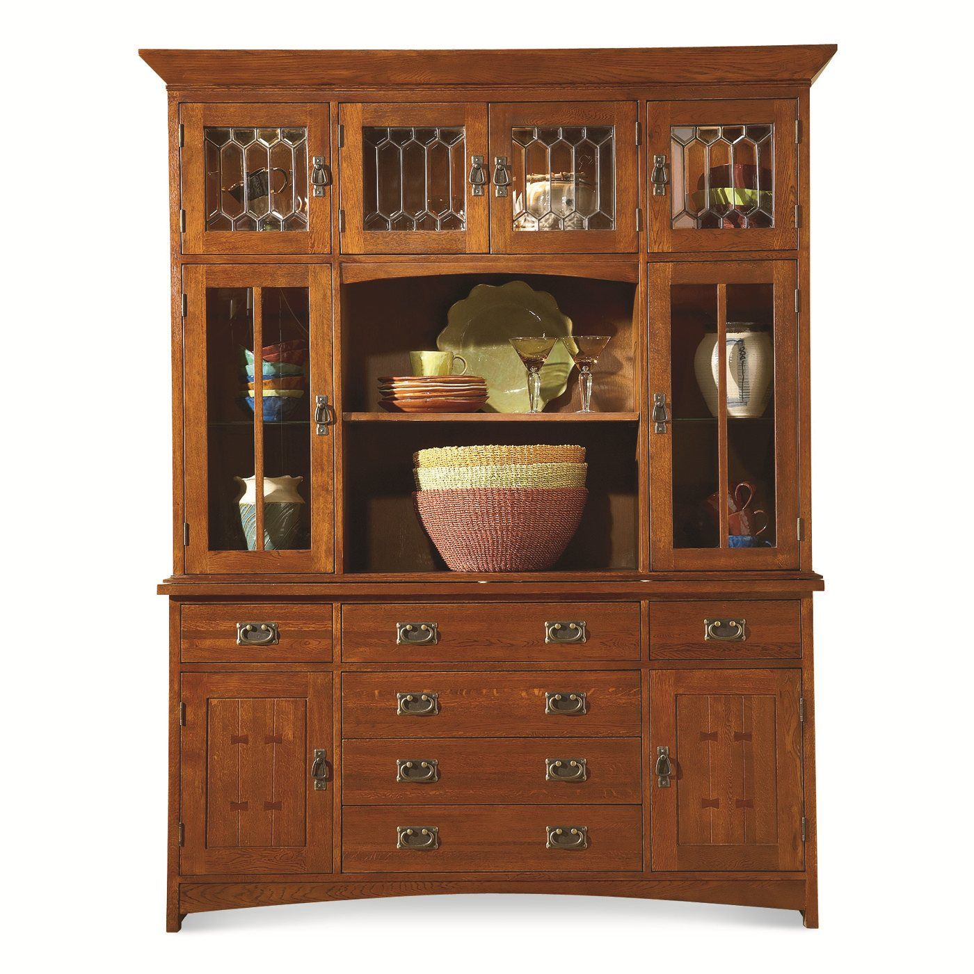 MasterCraft Collections 9818-HB Prairie Mission Buffet ...