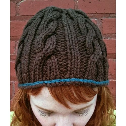 LORNA\'S LACES SNAKY CABLES HAT | gorros, boinas, sombreros tejidos ...
