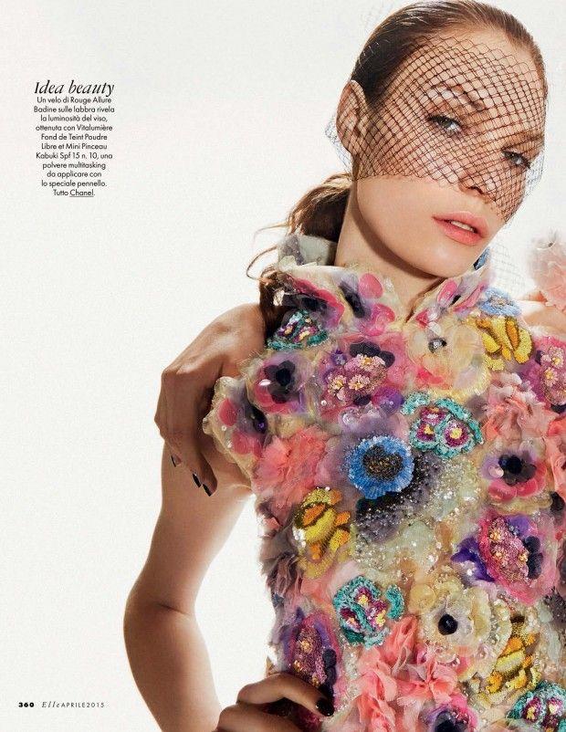 Mark Pillai for Elle Italia April 2015 CHANEL haute couture