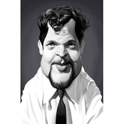 East Urban Home 'Vintage Celebrity Sunday Series: Orson Welles' Graphic Art Print on Canvas | Wayfair