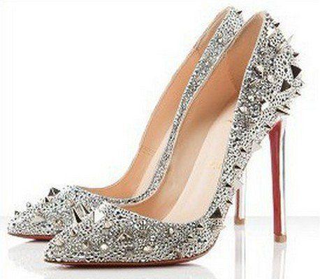 Strass Daffodil Glitter Pumps Wedding Shoeshigh Heel Shoessexy Wedding Shoes Heels – Best Wedding Reference