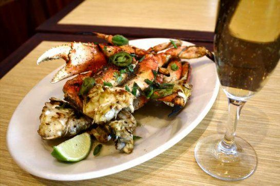 Woodhouse Fish Company: Grilled Jalapeno Buttered Crab with Scallions, Salt and Pepper » These are the Dungeness crab dishes of the Bay Area