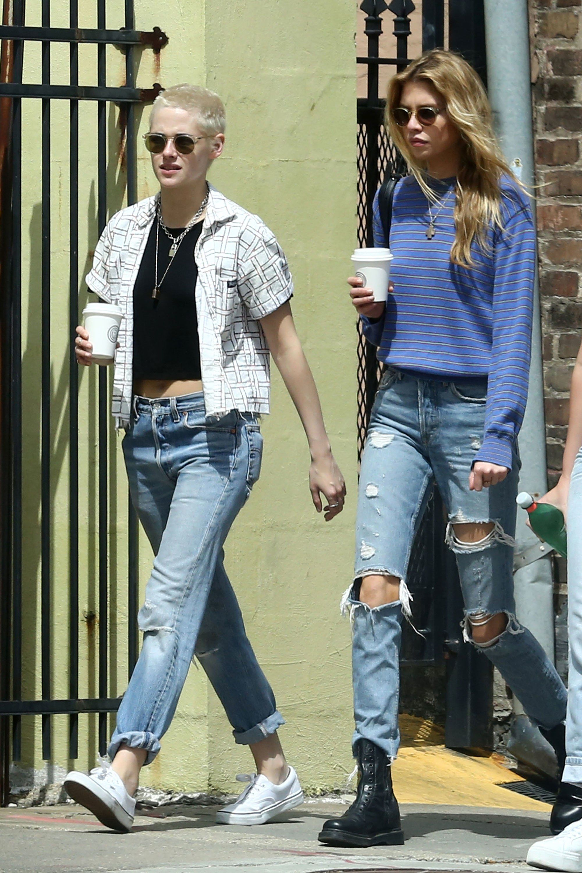 Kristen Stewart and Stella Maxwell Are Already Perfectly in Sync