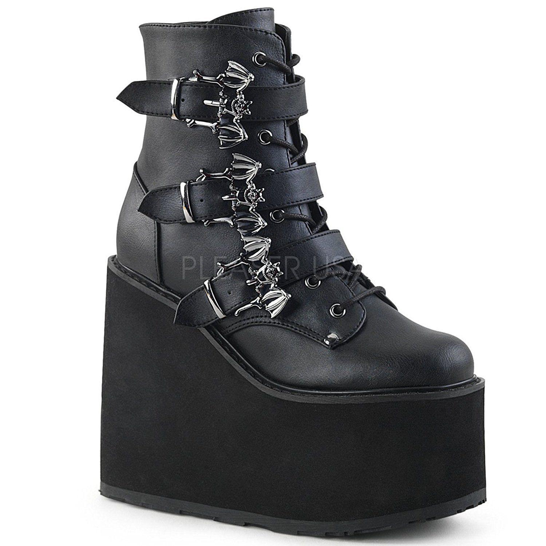 Тяжелые высокие женские ботинки фото