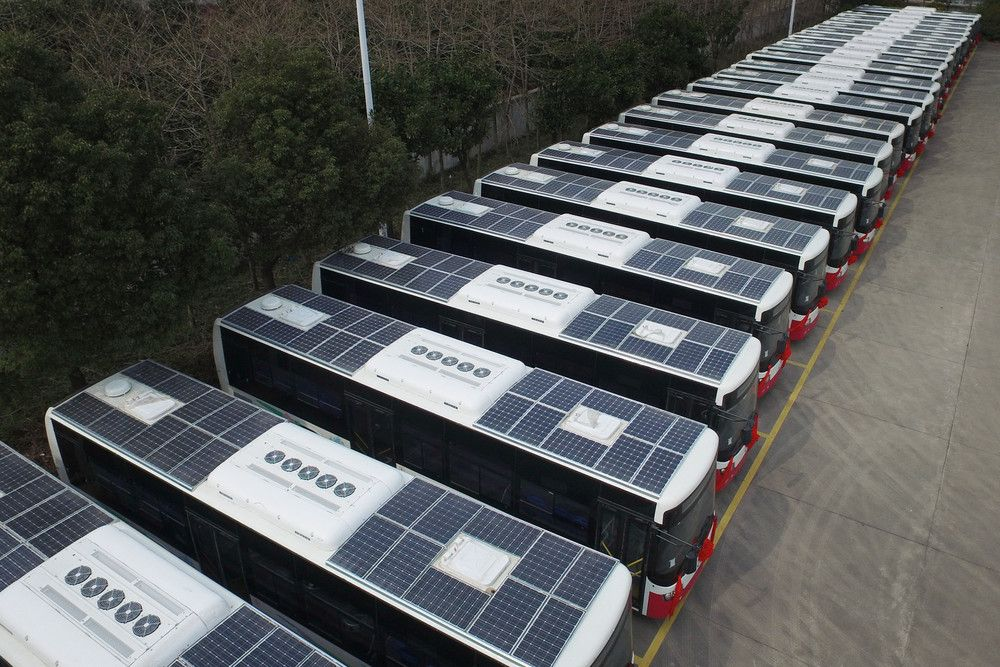 Large Solar Powered Bus Images Yahoo Image Search Results Solar Solar Power Solar Roof