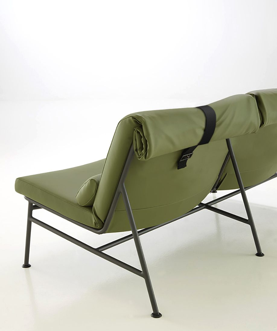 Sessel Ligne Roset Backpack Outdoor Seating Inspired By Camping Furniture Design