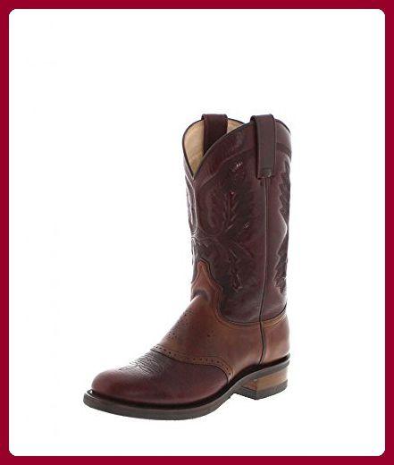 Sendra Boots Stiefel VOLCAN 5357 Dunkelbraun Westernreitstiefel