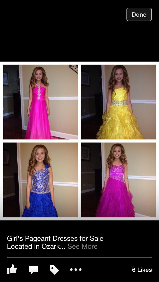 Used Pageant Wear
