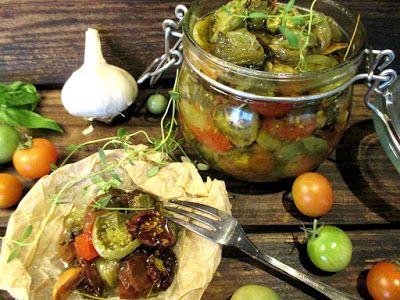 """Tinskun keittiössä: Värikkäät """"aurinkokuivatut"""" tomaatit. Ihan itse tehty"""